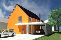 vizualizace díla architektonické kanceláře Izbing