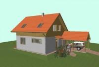 Novostavba rodinného domu ve Strážném
