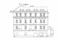 Půdní vestavba a nástavba v domě na pražském Smíchově